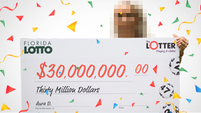 Ganadora de lotería
