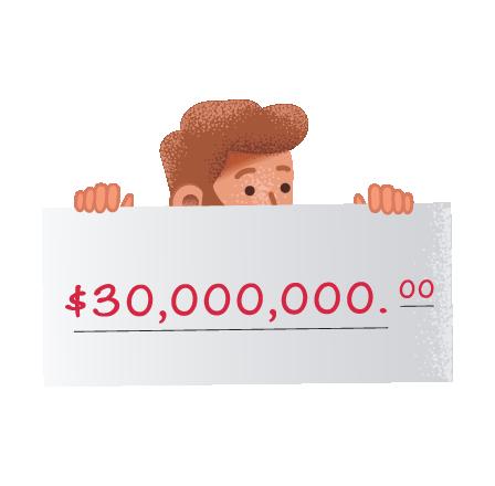 Ganadores de la lotería estadounidense Powerball en theLotter