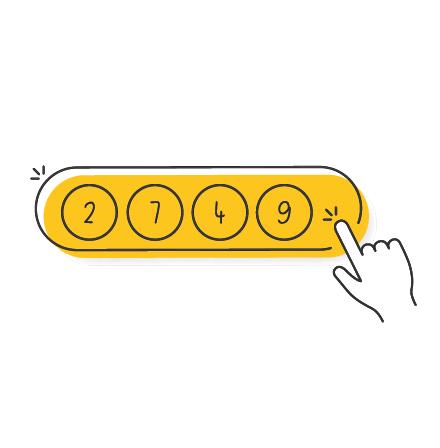 Panel de juego de Loto 6 de Japón
