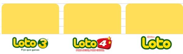 probabilidad Loto 3, Loto 4 y Loto