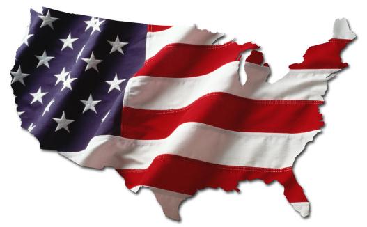 mapa de USA