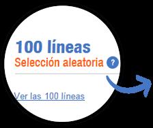 100 líneas de lotería